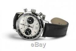 New Hamilton Intra-matic 68 Automatic Chronograph Panda Dial H38416711 40mm