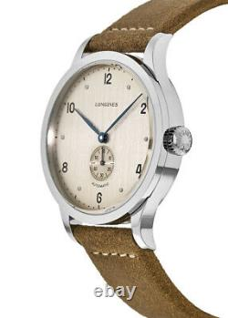 New Longines Heritage Automatic 1945 Copper Dial Men's Watch L2.813.4.66.0