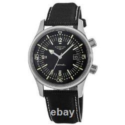 New Longines Legend Diver Automatic 42mm Black Dial Men's Watch L3.774.4.50.0
