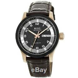 New Mido Multifort Automatic Day-Date Brown Men's Watch M018.830.36.292.00