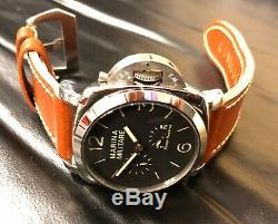 New Polished Marina Militare 47mm Sapphire, Power Reserve, Automatic Mens Watch