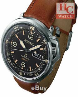 New SEIKO Men's Prospex SRPD31K1 Baselworld 2019 Automatic Field Leather Watch