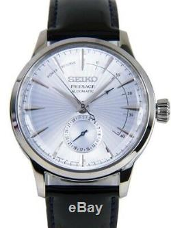 New Seiko SSA343 Men's PRESAGE Cocktail Time Automatic Power Reserve Watch