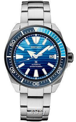 New Seiko Save the Ocean Automatic Prospex Samurai Divers 200M Mens Watch SRPC93
