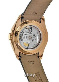 New Tissot Couturier Automatic Rose Gold Tone Men's Watch T035.428.36.051.00
