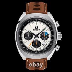 New Tissot HERITAGE 1973 Valjoux Automatic Chrono Men's Watch T124.427.16.031.01