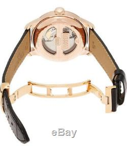 New Tissot T-Classic Automatic Black Dial Rose Gold Mens Watch T0064073605300
