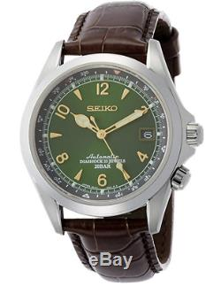 New WITHOUT BOX SEIKO SARB017 MECHANICAL Alpinist Automatic Winding Mens Watch