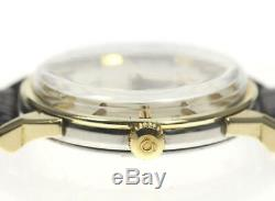 OMEGA Constellation Chronometer Pie Pan Dial cal, 551 Automatic Mens Watch 484397