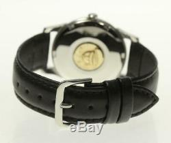 OMEGA Constellation Date Chronometer Automatic cal. 561 Leather Belt Men's 489446