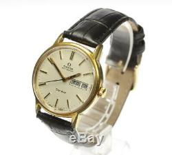 OMEGA Geneva cal. 1022 Day Date Silver Dial Automatic Men's Watch 543526