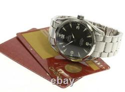 OMEGA Railmaster 2503.52 Black Dial Automatic Men's Watch 542628