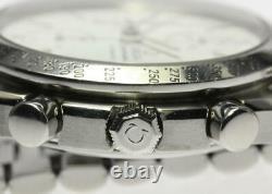OMEGA Speedmaster 3511.20 Date Chronograph white Dial Automatic Men's 575385
