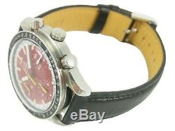 OMEGA Speedmaster Chronograph Racing Schumacher Automatic Watch 3510.61 Cal. 1141