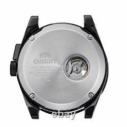 ORIENT RA-AR0202E Retro Future Camera Automatic Green Open-Heart Dial Men Watch