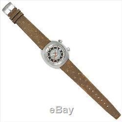 ORIS CHRONORIS Date 733 7737 4053 FLBR Automatic Gray dial Date Brown Leather
