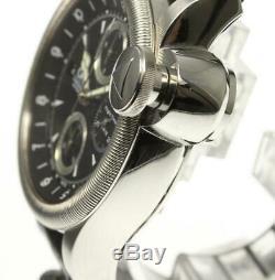 ORIS Flight timer R4118 Chronograph Date black Dial Automatic Men's Watch 536795