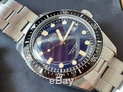 ORIS Sixty Five 65 Automatic 42mm Blue Dial Diver Watch bracelet + leather strap