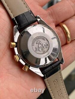 Omega 1995 Speedmaster Men's 18K Gold & Steel reduced Automatic watch + Box