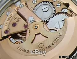 Omega Geneve Cal 565 Rare Men's 35mm Swiss Made Automatic Vintage Watch FB70