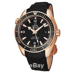 Omega Men's Seamaster Planet Ocean 18K Rose Gold Automatic Watch 23263422101001