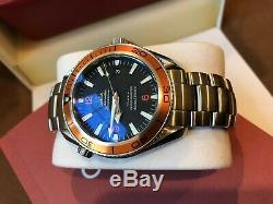 Omega Seamaster Automatic Men's Planet Ocean 2209.50.00 42MM No Reserve