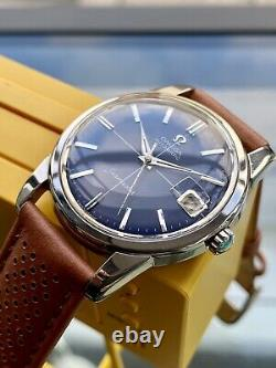 Omega Seamaster Blue Dial Steel Mens Vintage 1962 Automatic Stunning used watch