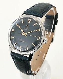 Omega Seamaster Blue/grey Dial Automatic Cal. 552 Dating To 1966