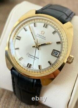 Omega Seamaster Cosmic Men's Automatic Vintage Watch 1969 Serviced + Warranty