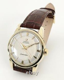 Omega Seamaster Two Tone Dial Automatic Cal. 501 Dating To 1957