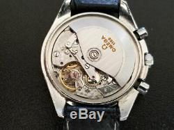 Omega Speedmaster 1150 SWISS Automatic Chronograph Triple Date Calendar Watch