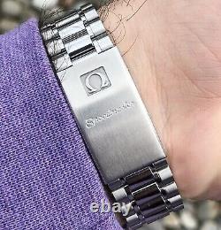 Omega Speedmaster Chronograph Black Dial Automatic Men's Watch! (3510.50)