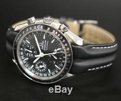 Omega Speedmaster Day Date Chronograph, Automatic, Black Dial with Watch Case