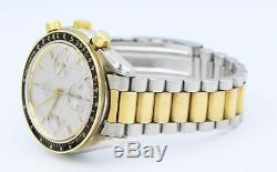 Omega Speedmaster Two-Tone 18k Yellow Gold 39mm Men's Automatic Watch