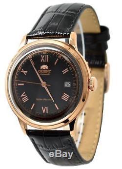 Orient 2nd Generation Bambino FAC00006B0 Automatic Black Leather Band Men's Watc