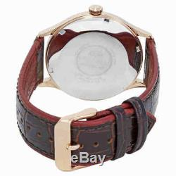 Orient Bambino Version 4 Automatic Brown Dial Men's Watch FAC08001T0