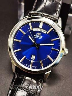 Orient Day Date Blue Dial Automatic Watch FEV0U003DH New