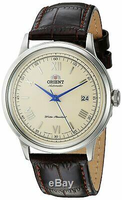 Orient Men's 2nd Gen. V. 2 Automatic Stainless Steel & Leather Watch FAC00009N0