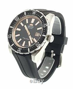 Orient Men's Nami Automatic Stainless Steel & Rubber Diving Watch FAC09003B