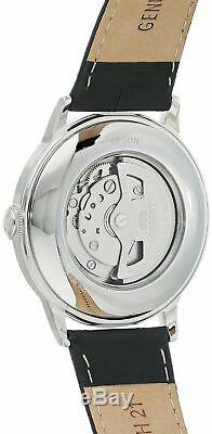 Orient Men's Open Heart Stainless Steel & Leather Automatic Watch RA-AG0004B10