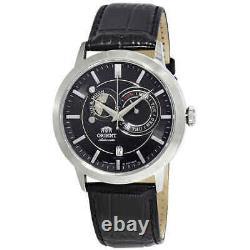 Orient Sun And Moon Automatic Black Dial Men's Watch FET0P003B0