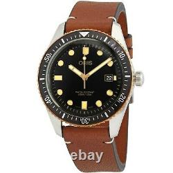 Oris 01 733 7720 4354-07 5 21 45 Men's Divers Sixty-Five Black Automatic Watch