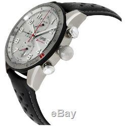 Oris Audi Sport Automatic Movement Silver Dial Men's Watch 77476617481LSBLK
