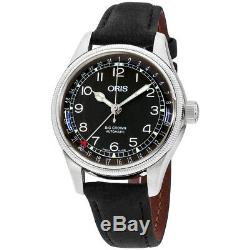 Oris Big Crown Automatic Movement Black Dial Ladies Watch 75477494064LSBLK