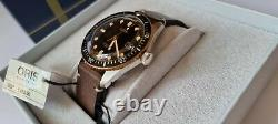 Oris Divers Sixty-Five automatic Swiss watch excellent condition. Box & Papers