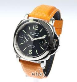PANERAI Luminor Marina PAM00104 Black Dial Automatic Men's Watch 564615
