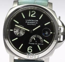 PANERAI Luminor PAM00125 Power reserve Automatic Men's Watch 486452