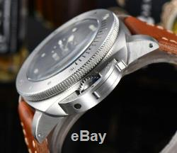 Pam Homage Automatic PVD Case Luxury Custom Made Watch for Men 47mm Free Ship