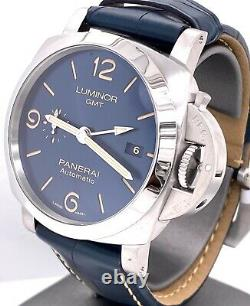 Panerai Luminor GMT Automatic Watch 44mm Pam 1033 PAM01033 Brand New