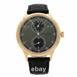 Patek Philippe Complications 18k Rose Gold Grey Automatic Men Watch 5235/50R-001